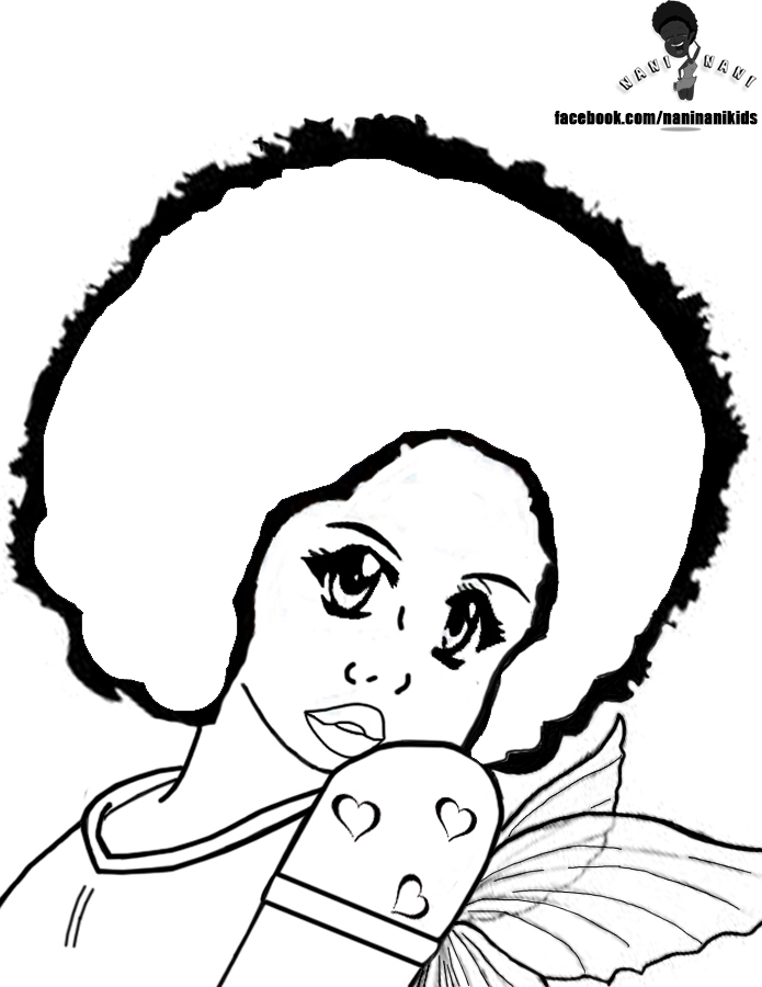 click on your favorite to download a full size image - African American Coloring Pages
