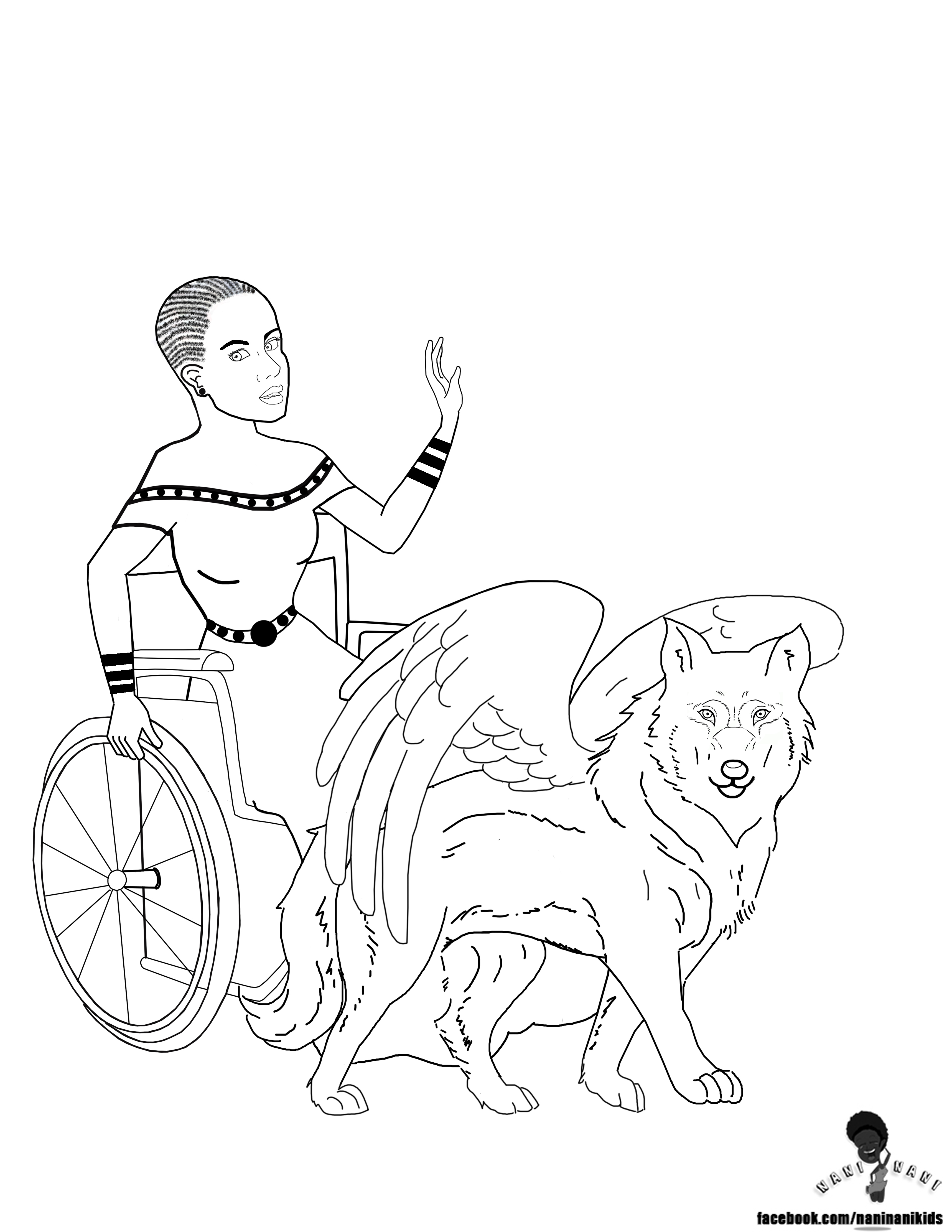 black american coloring pages - photo#36