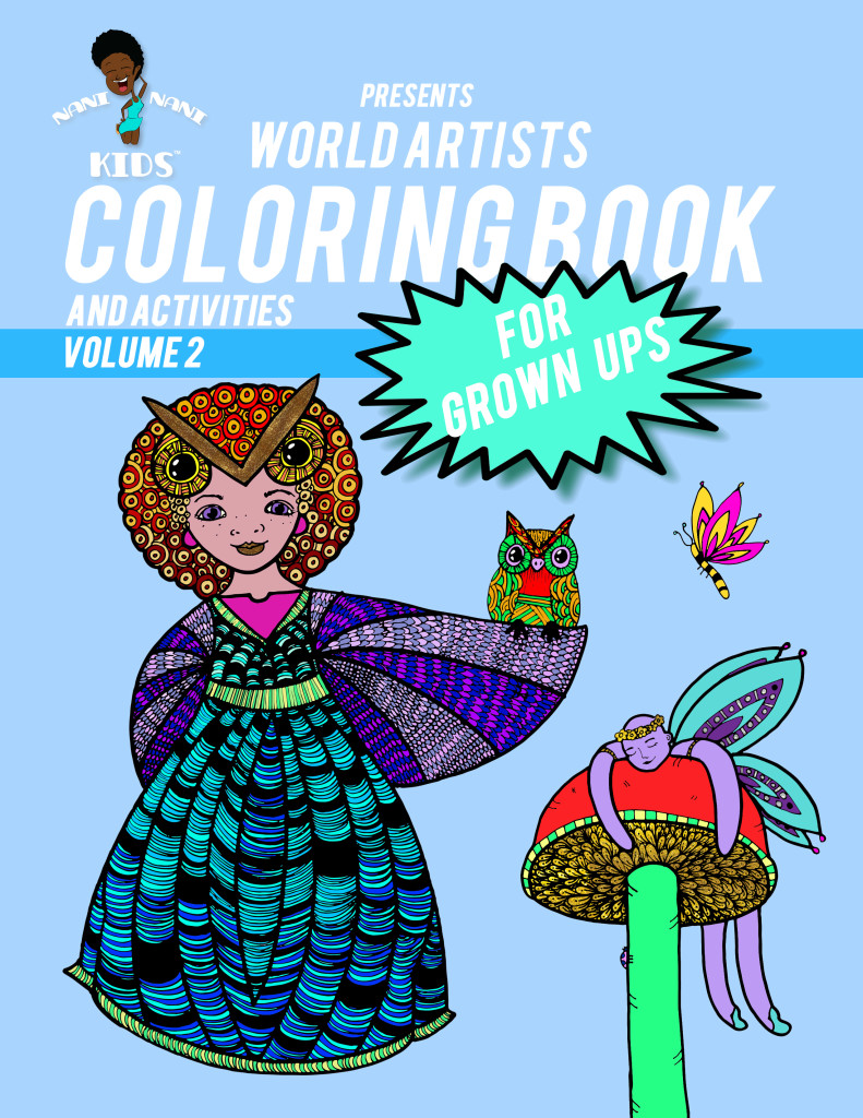 World Artist Coloring Book and Activities: Adult Coloring Book ...